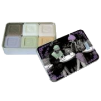 Мыло подарочное в жестяной упаковке, 6х25г